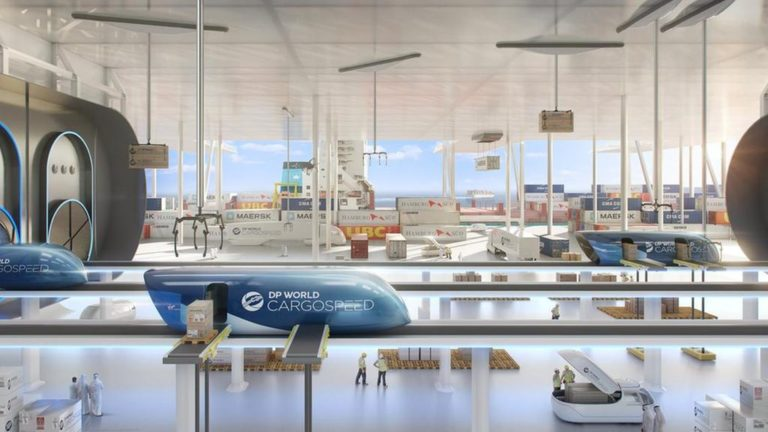 Virgin Hyperloop cargo network proposed in Dubai to deliver goods 'anywhere in world' within 48 hours